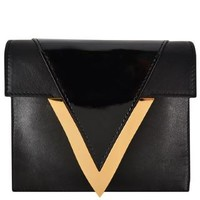 X Anthony Vaccarello V Clutch Bag