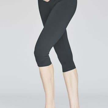 Olympia Activewear Mateo 3/4 Legging in Night Mesh Block