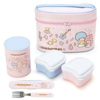 Little Twin Stars Insulated Lunch Set