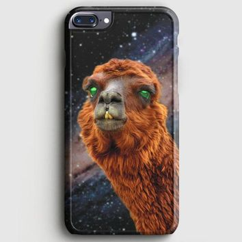LlamaS Green Nebula Encounter iPhone 7 Plus Case