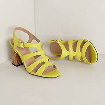 NIB Anthropologie Cordova Heels - by Miss Albright