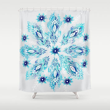 """Inspire Me"" Shower Curtain by rskinner1122"
