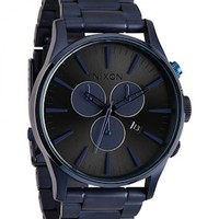 Nixon Sentry Chrono- Deep Blue