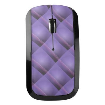 Purple Light Wireless Mouse