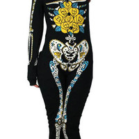 TOO FAST - DAY OF THE DEAD  PYJAMAS, PAJAMAS, PJs / HORROR, PSYCHOBILLY, ZOMBIE
