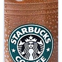 Brown White Green Black Plastic Starbucks Iced Coffee Smart Phone Case Cover