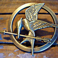 broochThe Hunger Games pendant Inspired by raibowluorainbowluo