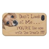 Hungry Dog iPHONE 4 CASE