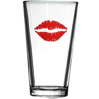 Bulk Brand-Name Kissed Novelty Pint Glasses, 16 oz. at DollarTree.com