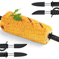 PIRATE VS. NINJA CORN SKEWERS