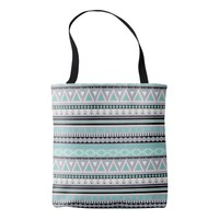 Colorful Tribal Pattern All-Over-Print Tote Bag