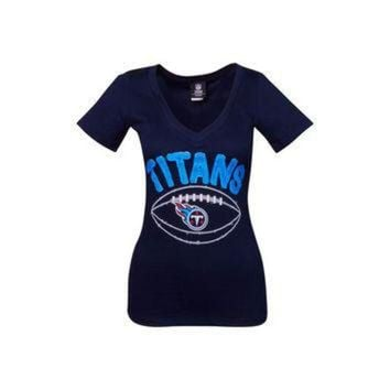 VLX9RV Tennessee Titans NFL Womens Baby Jersey Football T-Shirt