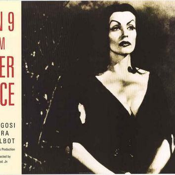 Plan 9 from Outer Space Vampira Poster 24x34