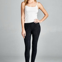 Suede Leggings - Multiple Color Options