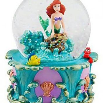 Fantasies Come True - Disney collectibles and memorabilia - Ariel mini snowglobe - Ariel Flounder Sebastian