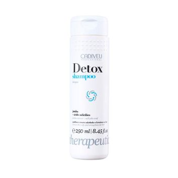 Cadiveu Detox Shampoo Therapeutic 250ml - 8.45fl.oz