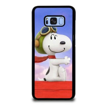 SNOOPY DOG Samsung Galaxy S8 Plus Case Cover