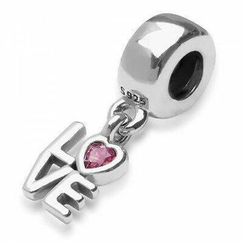 New Authentic Pandora Charm Love Dangle