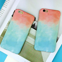 Tie-Dye mobile phone case for iphone 5 5s SE 6 6s 6 plus 6s plus + Nice gift box 072301