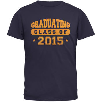 Graduating Class of 2015 Navy Adult T-Shirt