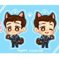 [PRE-ORDER] Detroit: Become Human - Puppy Connor Acrylic Charm • PACHIMOGU • Tictail
