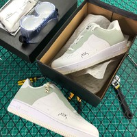 A Cold Wall Acw X Nike Air Force 1 Low White Grey Fashion Shoes - Best Online Sale
