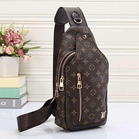 Perfect Louis Vuitton Women Men Fashion Leather Satchel Shoulder Bag Handbag Crossbody