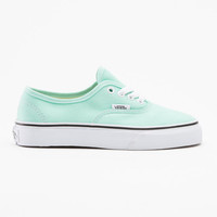 Vans Authentic Girls Shoes Beach Glass/True White  In Sizes