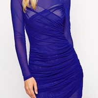 Judith- Royal Blue Dress