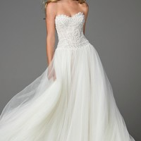 Watters Marlia Embellished Charmeuse Gown (In Stores Only) | Nordstrom