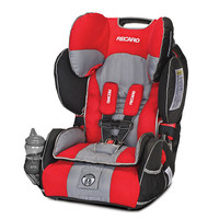 RECARO Performance SPORT Combination Harness to Booster Car Seat - Redd