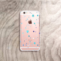 Stars iPhone 6s Case Clear iPhone 6 Case Clear Cute Samsung Note 5 Case Samsung Galaxy S6 Case Clear Samsung Galaxy Note 4 Case