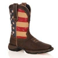 Durango Lady Rebel Women's American Flag Cowboy Boots