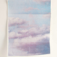 Print Club Boston X UO Clouds Art Print - Urban Outfitters