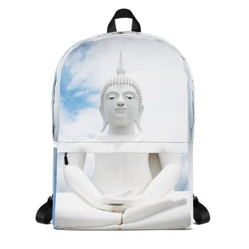 White Buddha Backpack