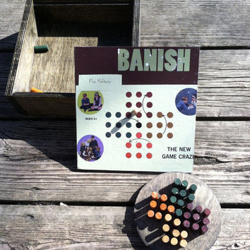 Banish: A Classic, Handmade version of Peg Solitaire