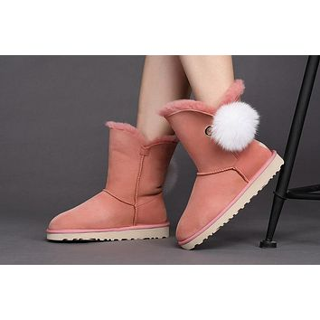 Best Sale Online UGG Pink Limited Edition Classics Boots IRINA Women Shoes 1017502