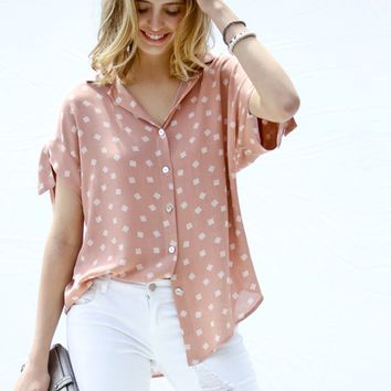 Squared Up Blouse