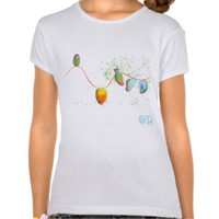 Playful Birds illustration shirt