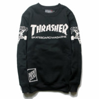Womens THRASHER Long Sleeve Sweatshirt