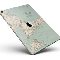 "The Vintage Map of Cape Cod Full Body Skin for the iPad Pro (12.9"" or 9.7"" available)"