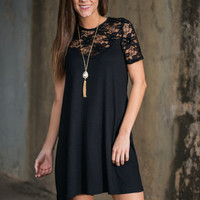 Endless Enchantment Dress, Black
