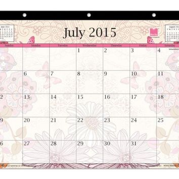 July 2015 - June 2016 Lianne Monthly Calendar 11x8.75