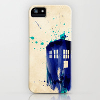 Doctor Who TARDIS Rustic iPhone Case by Colin Capurso | Society6