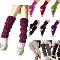 Cozy Retro Leg Warmers