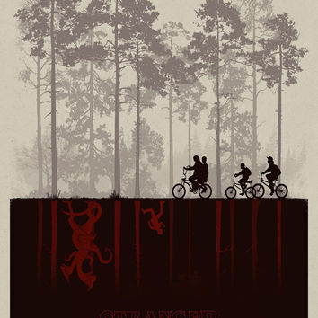 Stranger Things The Mirror World Netflix Tv Series Poster