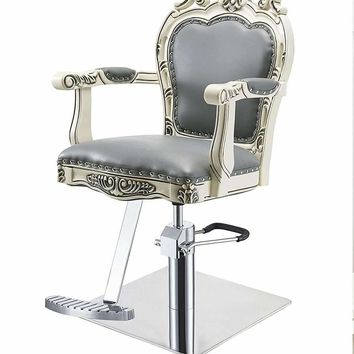 BEAUTY SALON STYLING CHAIR VICTORIAN STYLED ANTIQUE SALON CHAIR - GEORGIA-G