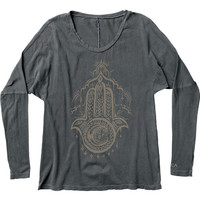 Henna Hand Long Sleeve T-Shirt | RVCA