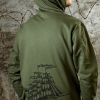 Men's Ship of Fools Hoodie by MIR Apparel