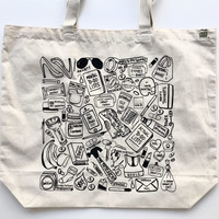 What We Carry - Screenprinted Tote Bag